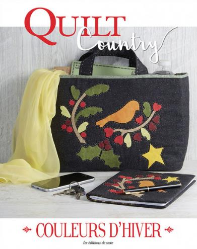 QUILT COUNTRY 63 - COULEURS D'HIVER