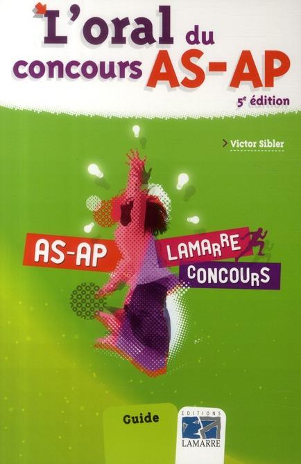 L ORAL DU CONCOURS AS AP 5E ED
