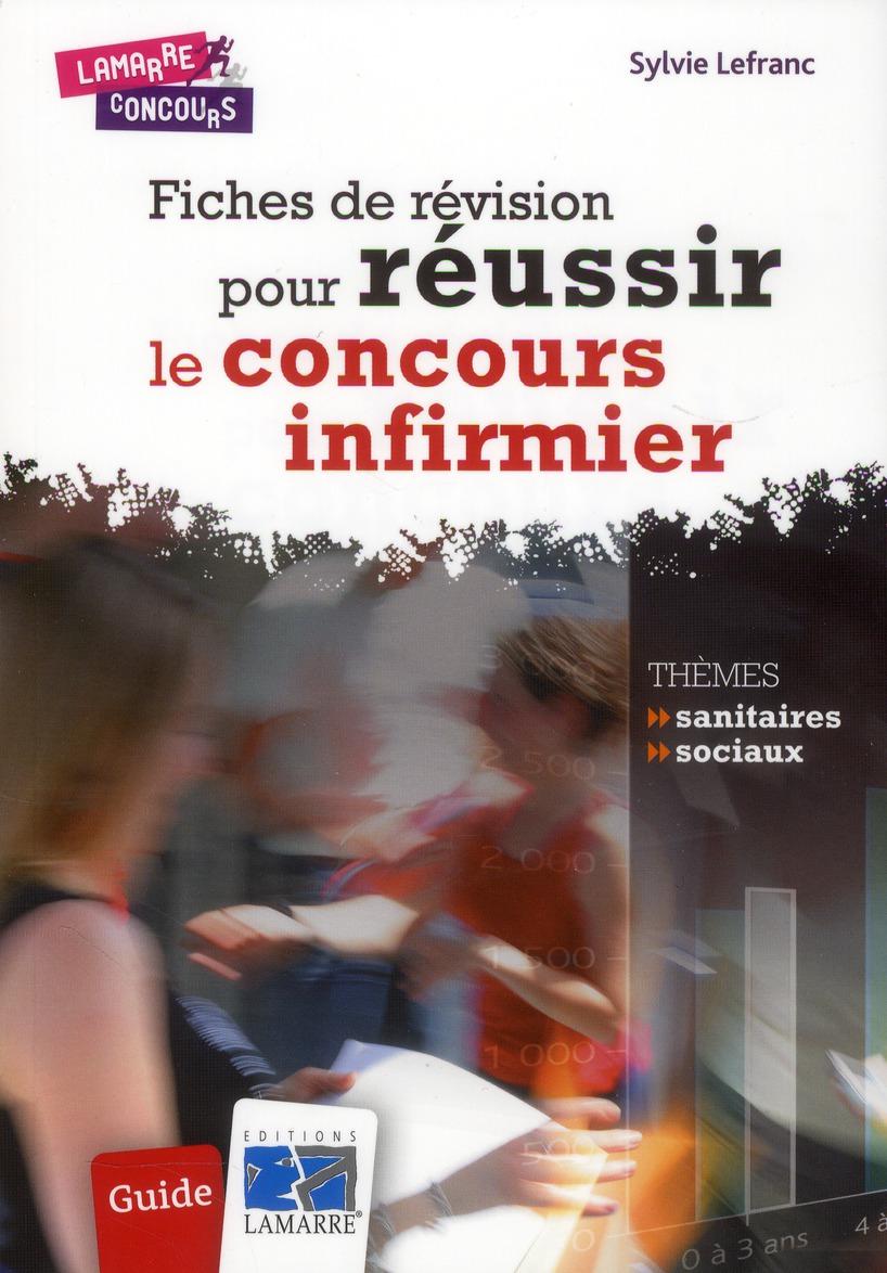 FICHES DE REVISION POUR REUSSIR LE CONCOURS INFIRMIER - GUIDE