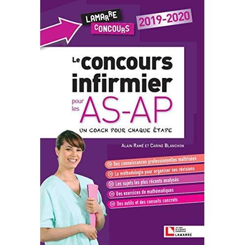 LE CONCOURS INFIRMIER POUR LES AS-AP  2019-2020 - SUIVEZ LE COACH A CHAQUE ETAPE