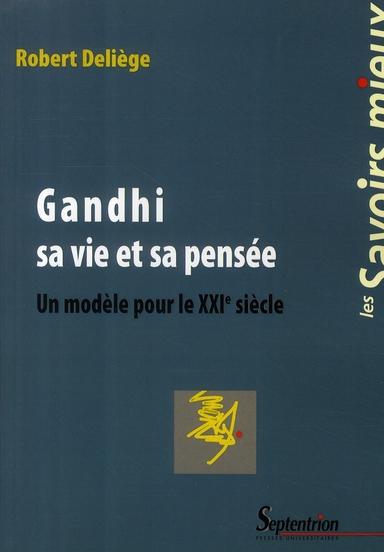 GANDHI  SA VIE ET SA PENSEE
