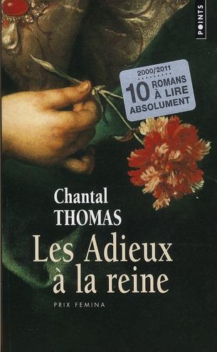 ADIEUX A LA REINE (10 ANS, 10 LIVRES) (LES)