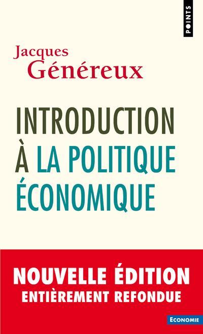 INTRODUCTION A LA POLITIQUE ECONOMIQUE