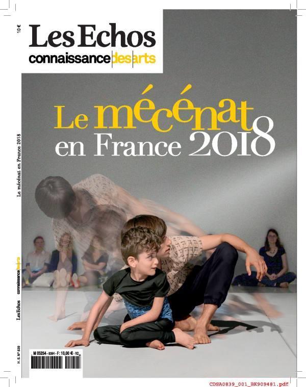 LE MECENAT EN FRANCE 2018
