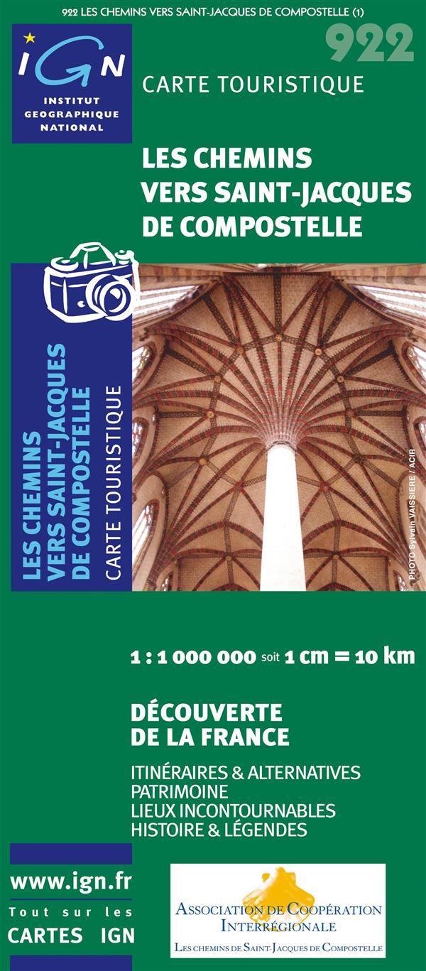 AED CHEMINS VERS SAINT-JACQUES DE COMPOSTELLE 1/1M