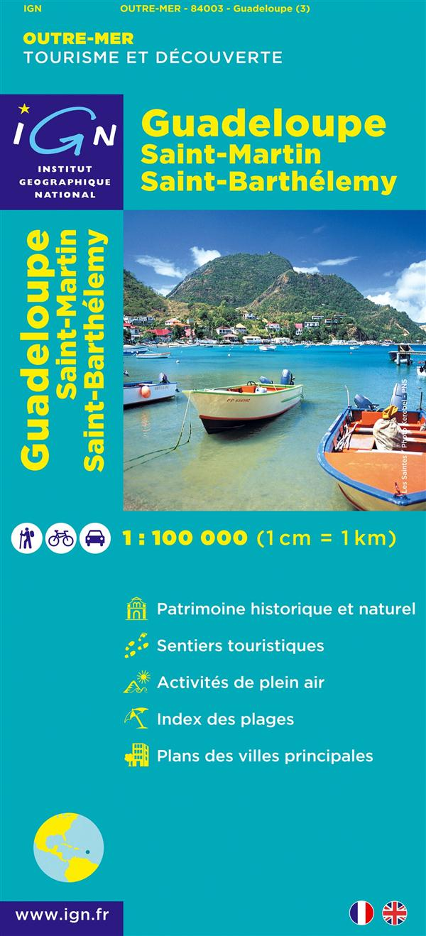 AED GUADELOUPE/ST-MARTIN/ST-BARTHELEMY  1/100.000