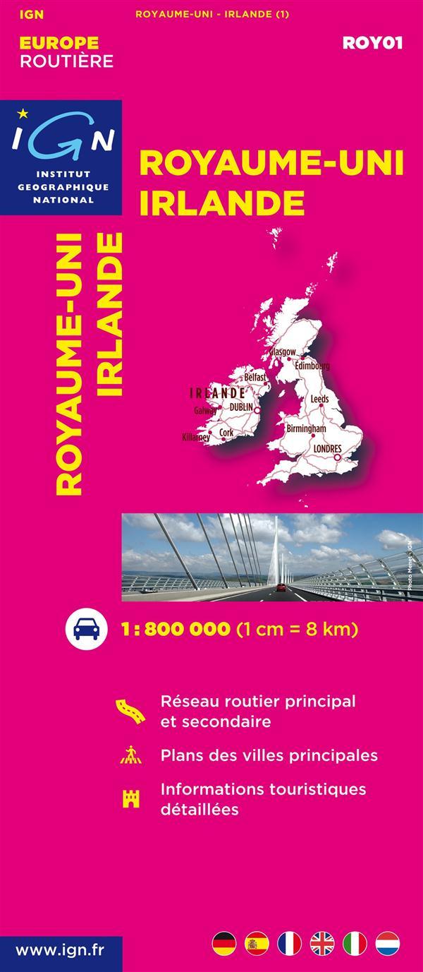 AED ROY01 ROYAUME-UNI/IRLANDE  1/800.000
