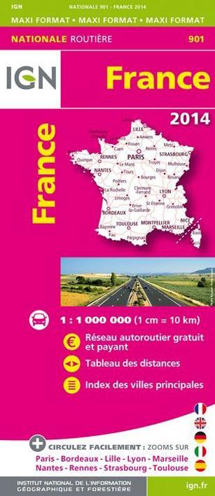 FRANCE 2014  1/1M (RECTO)