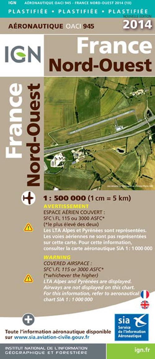 AED OACI945 FRANCE NORD-OUEST PLAST.2014