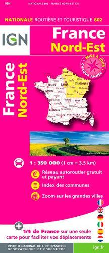 FRANCE NORD-EST  1/350.000
