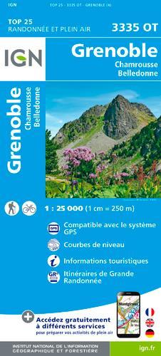3335OT GRENOBLE/CHAMROUSSE/BELLEDONNE
