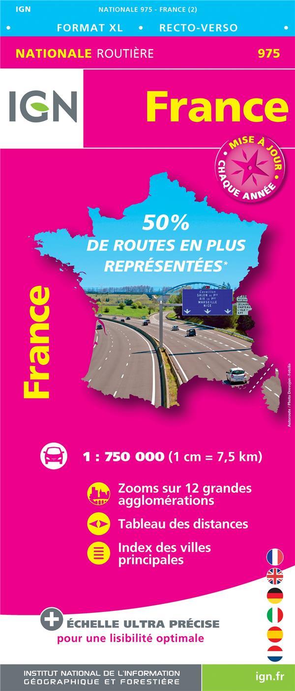 1M975 FRANCE ROUTIERE XL MAXI FORMAT 2018 (1/750 0