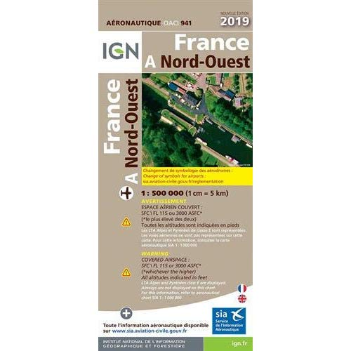 OACI941 FRANCE NORD-OUEST 2019 1/500.000