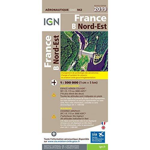 OACI942 FRANCE NORD-EST 2019 1/500.000