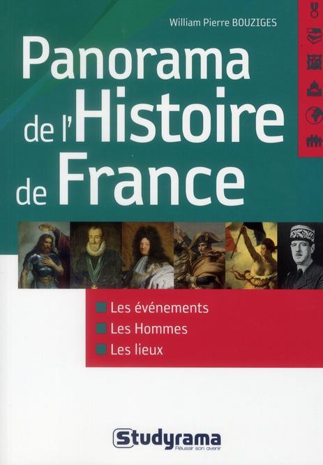 PANORAMA DE L'HISTOIRE DE FRANCE