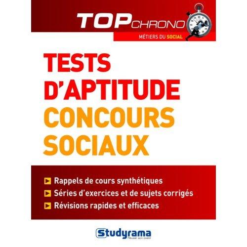 TESTS D'APTITUDE CONCOURS SOCIAUX
