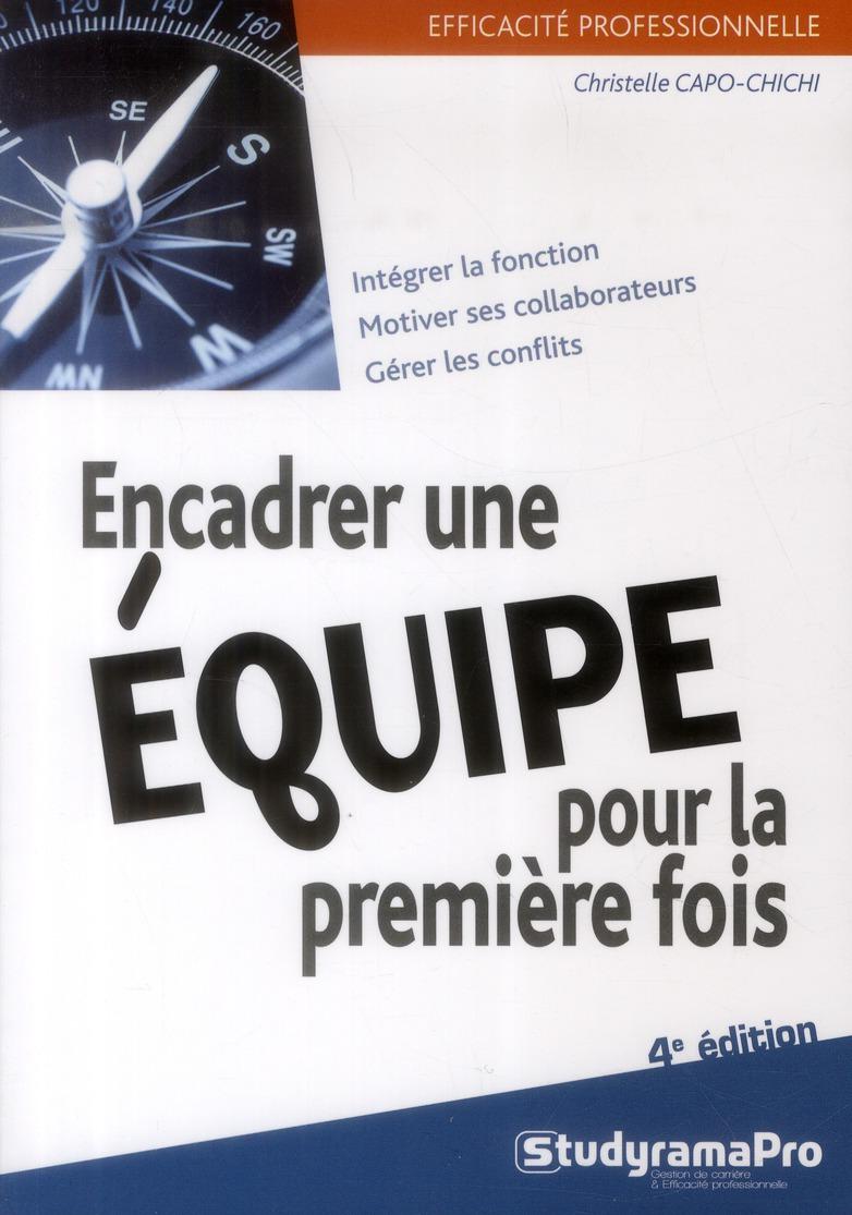 ENCADRER UNE EQUIPE POUR LA PREMIERE FOIS 4 EDT