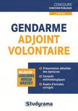 GENDARME ADJOINT VOLONTAIRE 2EME EDITION