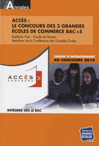 ANNALES ACCES 2013-2014 (LES)