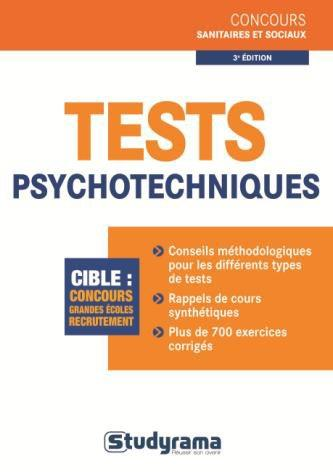 TESTS PSYCHOTECHNIQUES 3EME EDITION