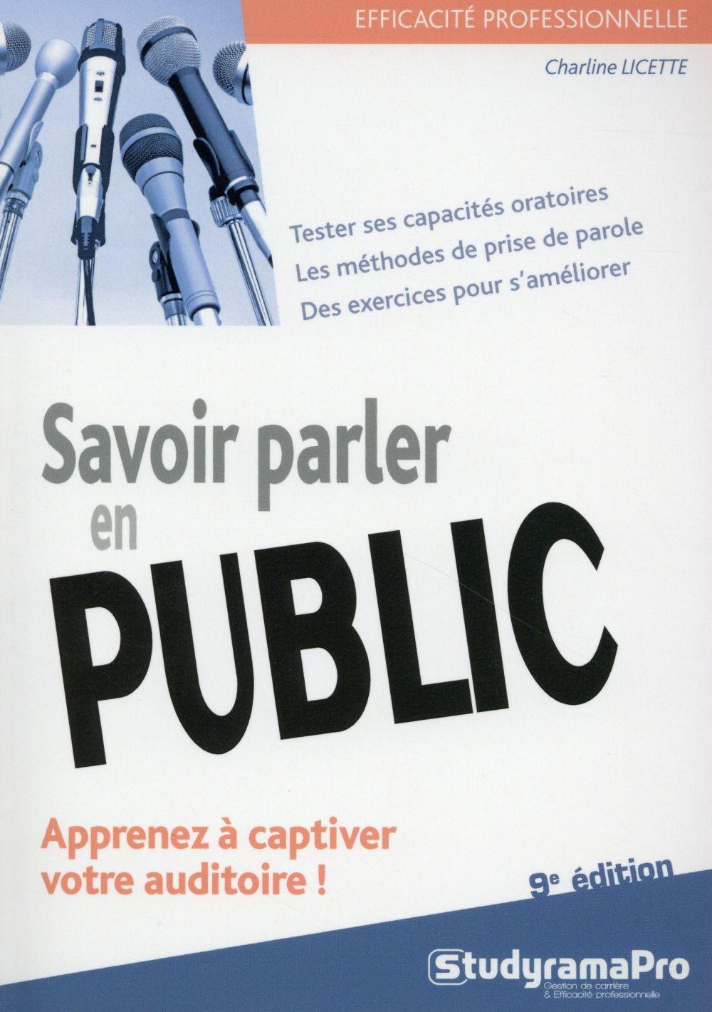 SAVOIR PARLER EN PUBLIC 9EME EDITION