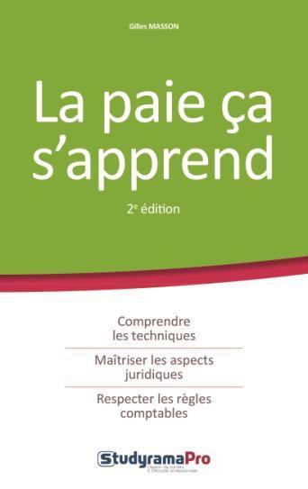 PAIE CA S'APPREND 2EME EDITION (LA)