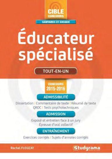 EDUCATEUR SPECIALISE 2015-2016