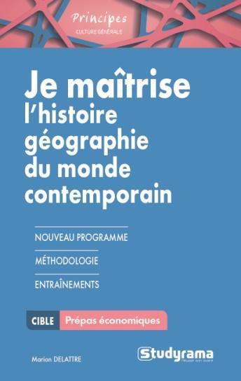 JE MAITRISE L'HISTOIRE-GEOGRAPHIE ET GEOPOLOTIQUE
