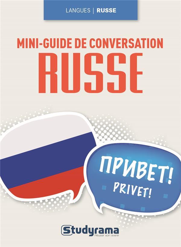 MINI GUIDE DE CONVERSATION EN RUSSE