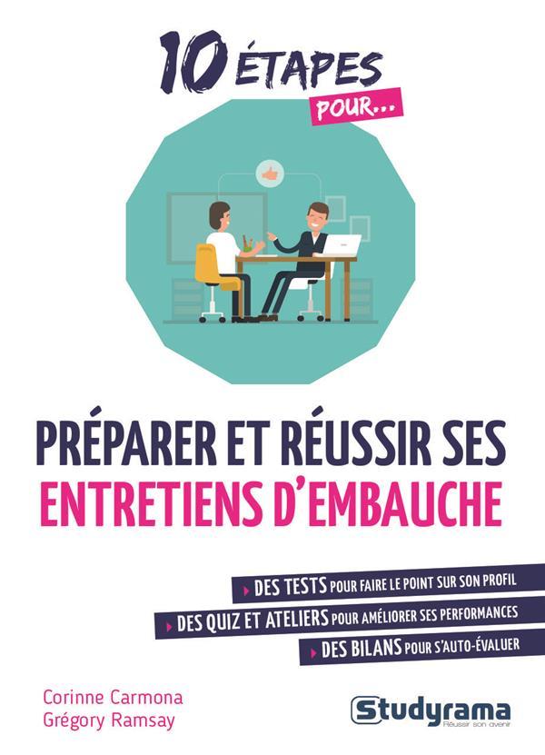PREPARER ET REUSSIR SES ENTRETIENS D'EMBAUCHE