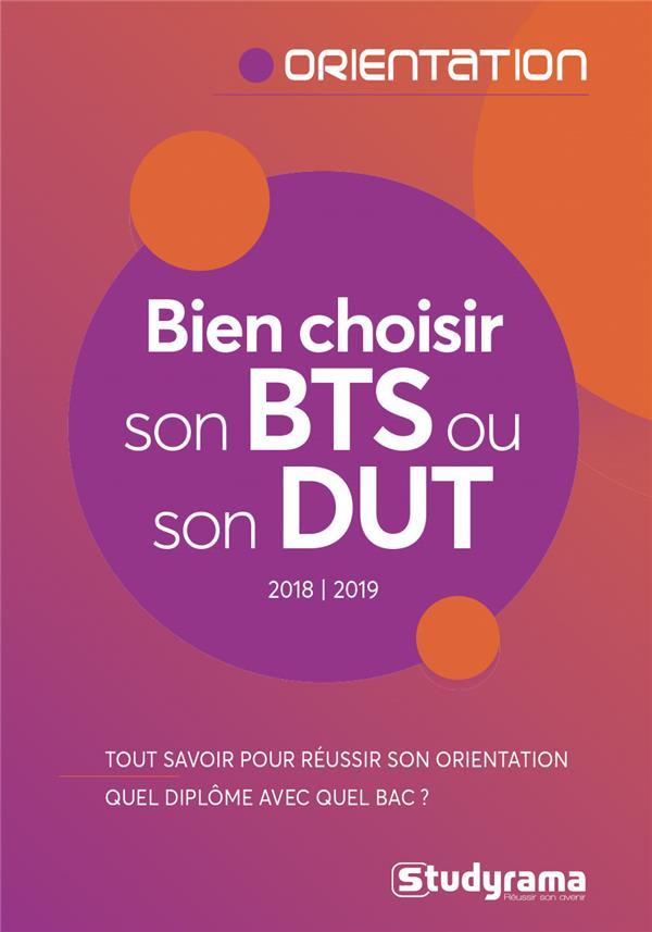 BIEN CHOISIR SON BTS OU SON DUT 2018-2019