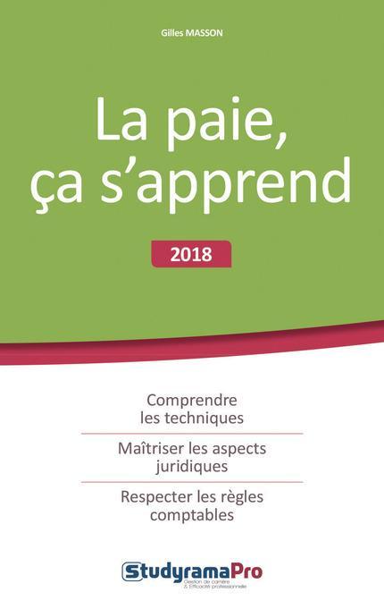 PAIE CA S'APPREND (LA) 5ED 2018