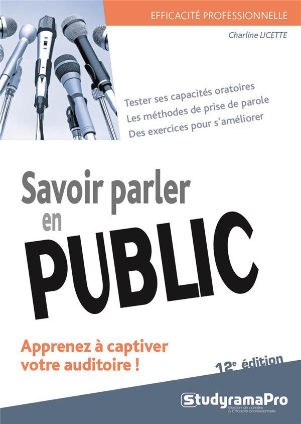 SAVOIR PARLER EN PUBLIC 12ED