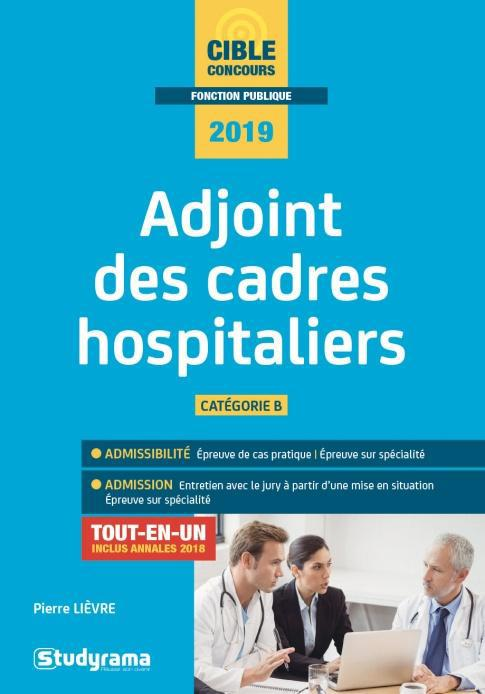 ADJOINT DES CADRES HOSPITALIERS 2019