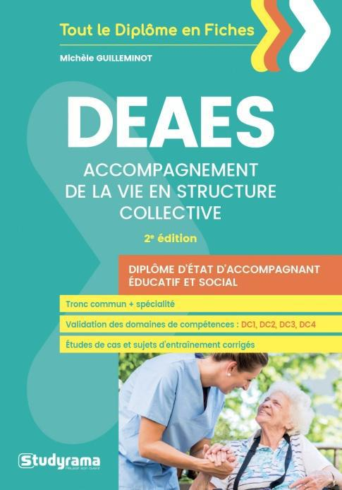 DEAES ACCOMPAGNEMENT DE LA VIE EN STRUCTURE COLLECTIVE