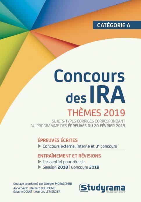 CONCOURS DES IRA THEMES 2019