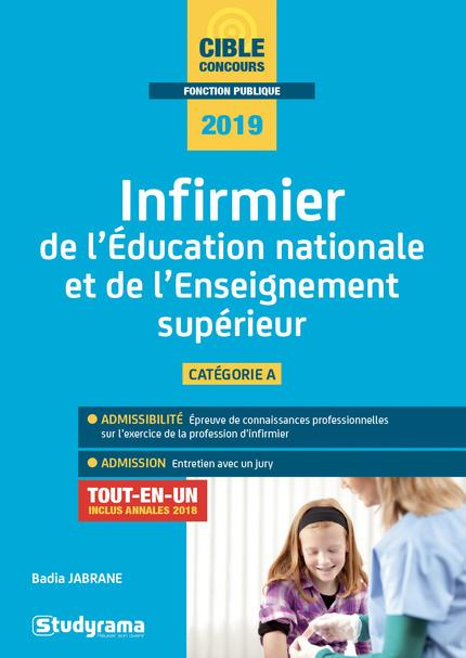 INFIRMIER DE L'EDUCATION NATIONALE ET DE L'ENSEIGNEMENT SUPERIEUR 2019