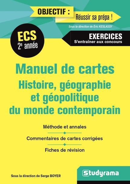 MANUEL DE CARTES 2E ANNEE ECS