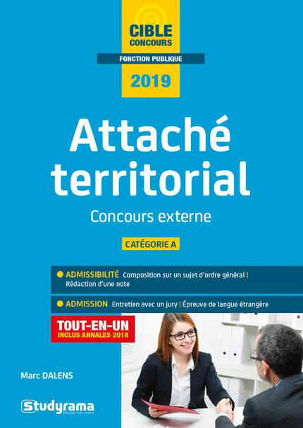 ATTACHE TERRITORIAL CONCOURS EXTERNE 2019