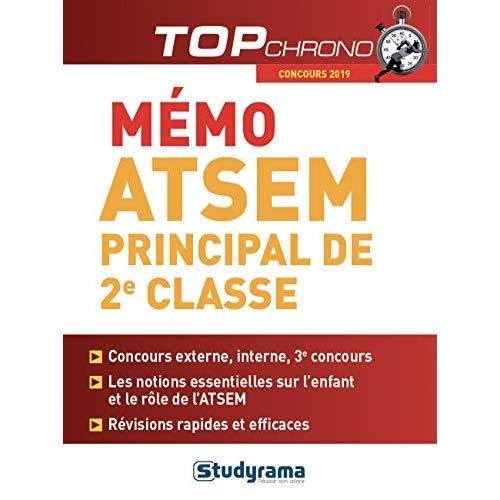 ATSEM PRINCIPAL DE 2E CLASSE CONCOURS 2019