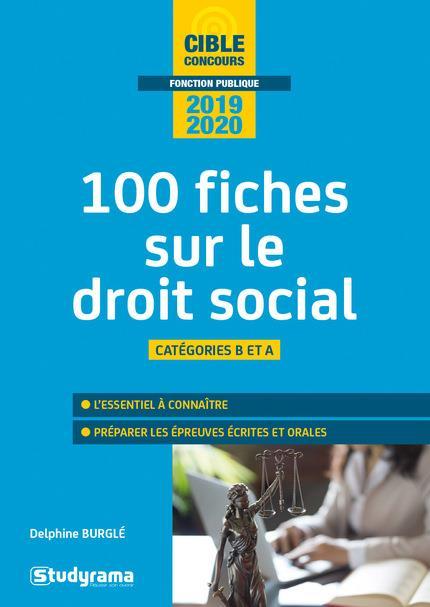 100 FICHES SUR LE DROIT SOCIAL