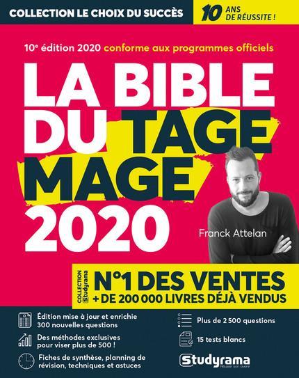LA BIBLE DU TAGE MAGE 2020
