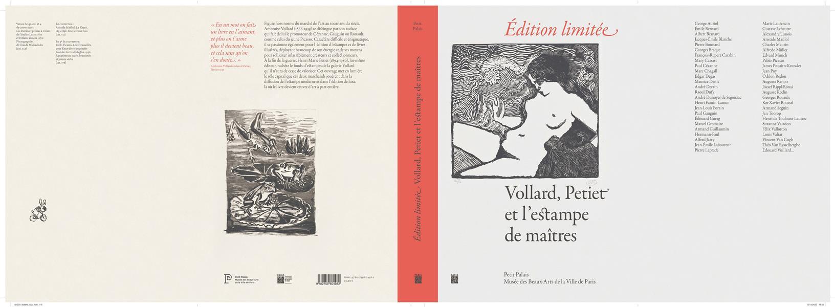 EDITION LIMITEE, VOLLARD, PETIET ET L'ESTAMPE DE MAITRES