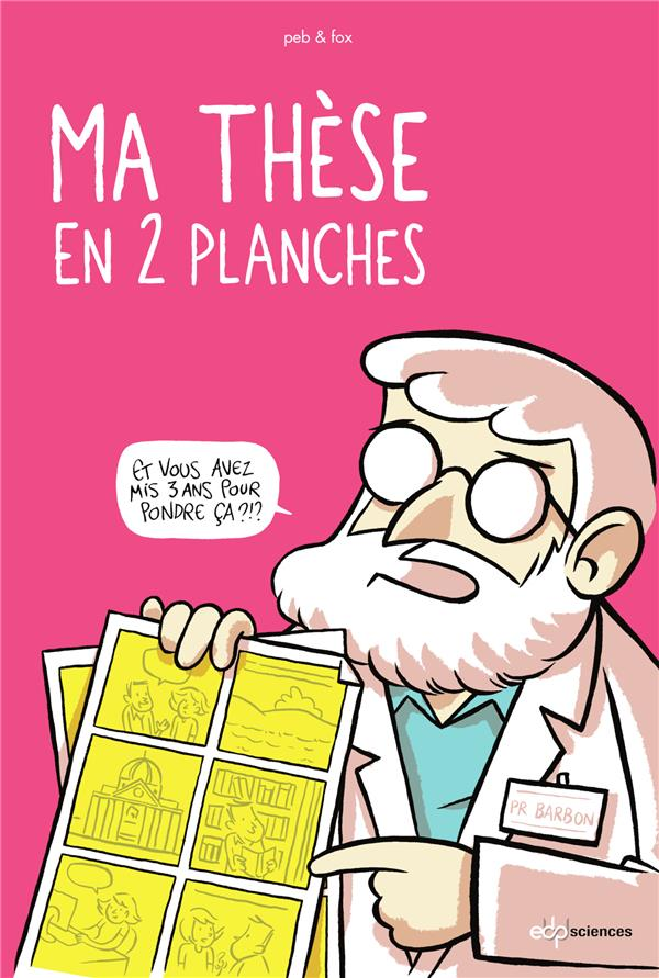 MA THESE EN 2 PLANCHES