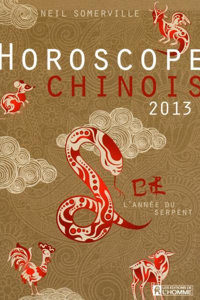 HOROSCOPE CHINOIS 2013 - L'ANNEE DU SERPENT