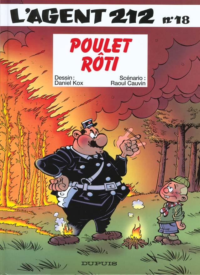 L'AGENT 212 - TOME 18 - POULET ROTI