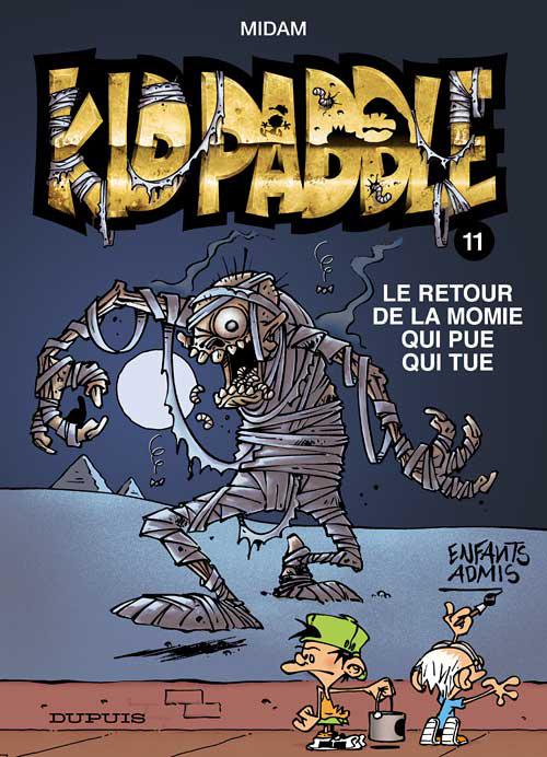 KID PADDLE - T11 - RETOUR DE LA MOMIE QUI PUE QUI TUE (LE) ODORAMAT
