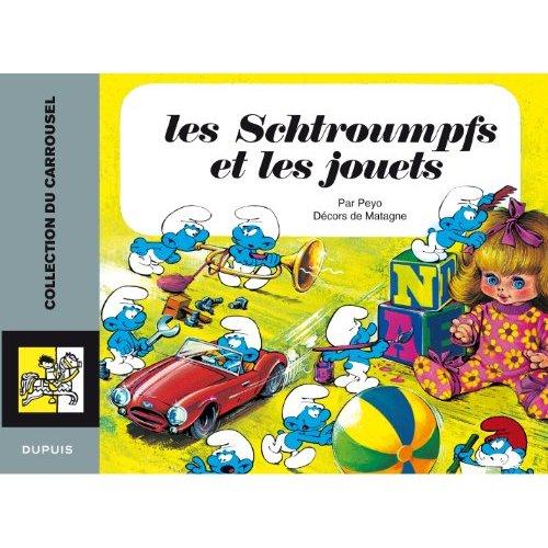 LES SCHTROUMPFS ET LES JOUETS - CAROUSSEL 10 - T2