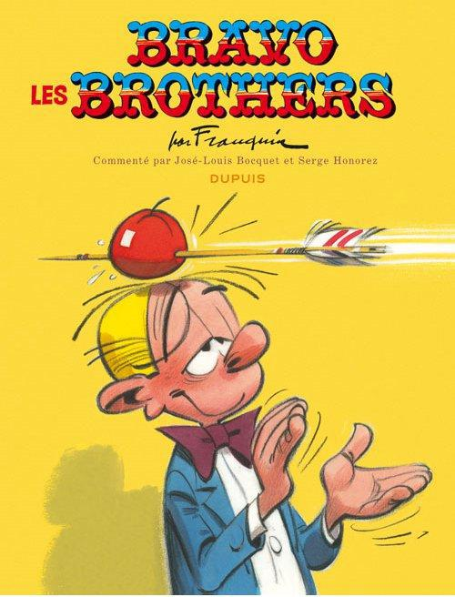 SPIROU-EDITION COMMENTEE SPIROU - EDITION COMMENTEE - TOME 0 - BRAVO LES BROTHERS