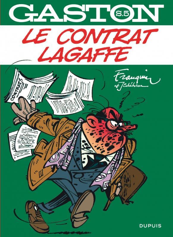 GASTON HORS SERIE - T5 - LE CONTRAT LAGAFFE